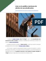 Incoherencias en la política mexicana de extradición de narcotraficantes