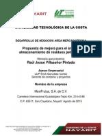 Propuesta de mejora para el area de almacenamiento de residuos peligrosos.pdf