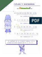 Mate Caregagfadivisibilidad , Numeros Primos , m.c.m. , m.c.d.