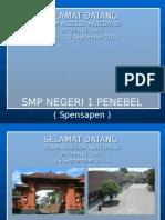 Akreditasi SMPN 1 PENEBEL 2015