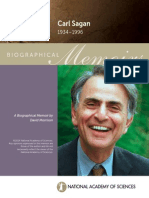 Carl Sagan Memoirs