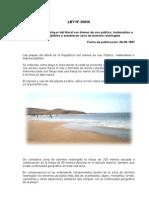 Normas Sobre Playas