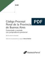Codigo Procesal Penal Bs as Bertolino Indice