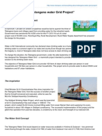 Manapsc.com-Everything About Telangana Water Grid Project