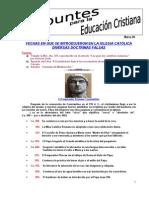 8. Doctrinas católicas