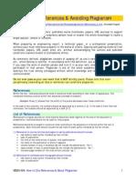 2009 ASME How to Cite References