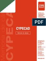CYPECAD - Memoria de Cálculo