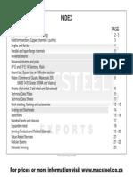 Macsteel Exports - Catalogue 0