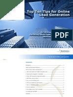 toptentipsforonlineleadgeneration-130711143633-phpapp02