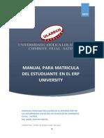 Tutorial Matricula Uladech