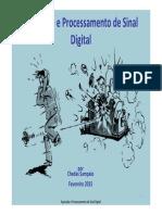 Aquisição e Processamento de Sinal Digital