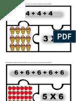Rompecabezas de Multiplicaciones