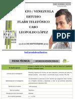 Estudio Flash Leopoldo Lopez - Septiembre 2015