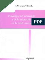 Valhondo, Antonio Mesonero - Psicologia Del Desarrollo y de La Educacion