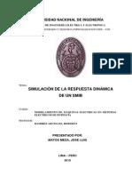Respuesta Dinamica de Un SMIB [JoseLuisMatosMeza]