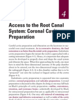 Access to the Root Canal System