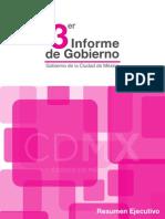 Tercer Informe de Gobierno de Miguel Ángel Mancera