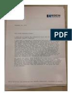 Koch Letter - Oil Exports