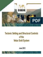 Vetas Structural Report