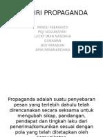 Ciri Ciri Propaganda