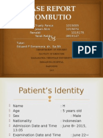 Ppt Case Report Combustio