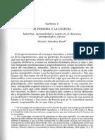 Soberbia, Racionalidad y Sujeto en El Discurso Antropológico Clásico