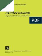 Gutierrez Girardot Rafael - Modernismo Supuestos Historicos Y Culturales