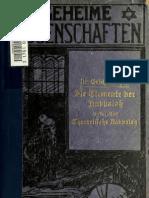1913 Dr. ErichBischoff -- Elemente Der Kabbalah