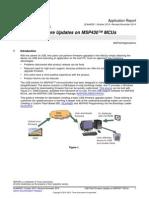 USB Field Firmware Updates on MSP430 MCUs