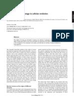 2006 Viruses Take Center Stage in Cellular Evolution