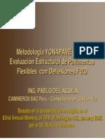 PRESENTACIÓN - Ing Pablo Del Águila Presenta Método YONAPAVE