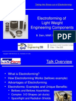 Electroforming of Light Weight Components 09