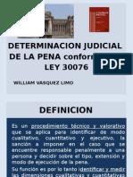 Determinacion de La Pena
