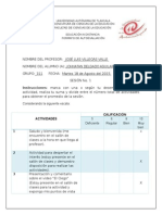 Formatos de Evaluacion EAD