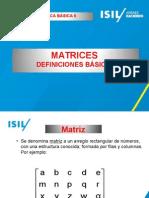 MATRICES.definicionesbasicas