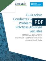 Guia Sobre Conductas Sexuales Problematicas y Practicas Abusivas Sexuales - AISOS
