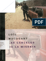 1.2 Wacquant Loic - Las Carceles de La Miseria