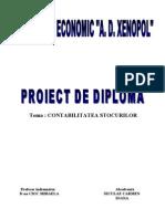 Proiect de Diploma Contabil Stocurilor
