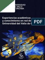 Experiencias Académicas y conocimiento en Red de la Universidad del Valle de Orizaba