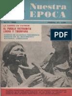Nuestra Epoca N°7 - Julio 1966 - Revista Internacional