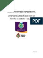 PROGRAMA INTERNO DE PROTECCIÓN CIVIL FACULTAD DE ZOOTECNIA Y ECOLOGIA.pdf