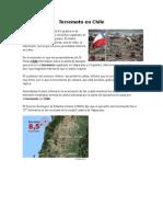 Terremoto en Chile- 2015