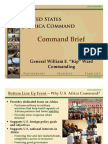 2010 US Africa Command Command Brief (USAFRICOM)
