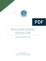 Currículo Institucional - Xchool Ixim