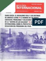 Revista Internacional - Nuestra Epoca N°2 - Edición Chilena - Febrero 1986