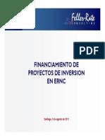 Financiamiento de Proyectos Ernc