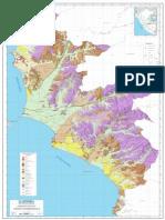 Mapa de Geomorfologico Lima Metropolitana 2015