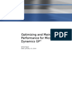 Microsoft Dynamics GP Performance White Paper