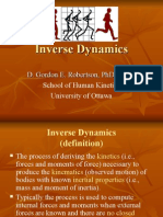 Inverse Dynamics