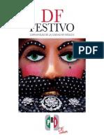 Libro DF Festivo Carnavales de La Ciudad de Mexico Editado Por El PRI DF